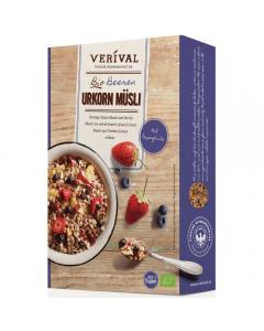 Musli cu fructe de padure Urkorn Musli Verival Bio 325g