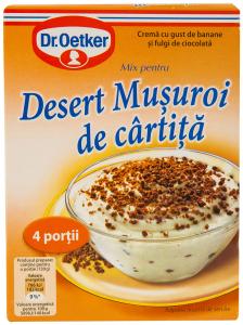 Mix pentru desert Musuroi de cartita Dr Oetker 110G