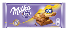 Cracker Tuc and Milka 87g