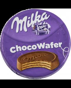 Napolitana cu crema de cacao acoperita in ciocolata cu lapte Milka 30g
