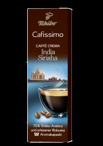 Capsule cafea Cafissimo India Sirisha Tchibo 75g