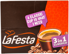 Bautura instant cu cafea, zahar si gust de lapte La Festa 3 in 1 classico 24 buc