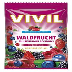 Drops cu aroma de fructe de padure Vivil 60g
