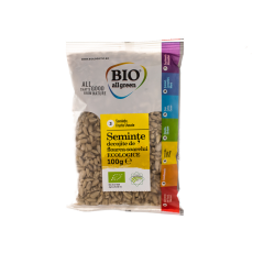 Seminte bio de floarea soarelui Bio AllGreen 100g