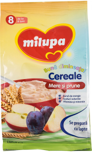 Cereale mere si prune Milupa 180g