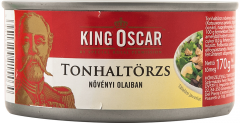 Conserva ton bucati in ulei de floarea soarelui King Oscar 170g
