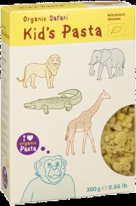 Paste bio pentru copii Biologish Organic Safari 300g