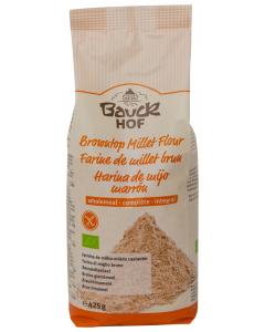 Faina integrala de mei brun ecologica, fara gluten Bauck Hof 425g