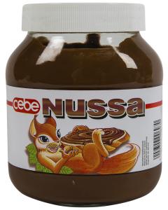 Crema de cacao cu alune Cebe Nussa 750g