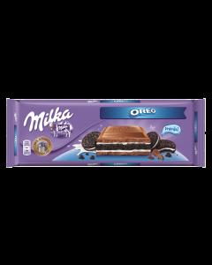 Ciocolata cu lapte si biscuiti Milka 300g