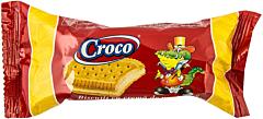 Biscuiti cu crema de vanilie Croco 32g
