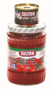 Pasta de tomate Sultan 580g + Pasta Sultan 70g Cadou