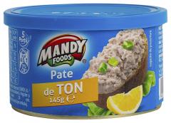 Pate de ton Mandy 145g