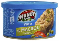 Pate de macrou Mandy 145g