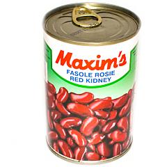 Conserva de fasole rosie Maxim's 400g