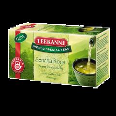 Ceai verde aromatizat cu gust de fructe exotice Teekanne 20x1.75g