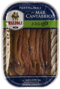 File de ansoa in ulei extravirgin de masline Rizzoli 70g