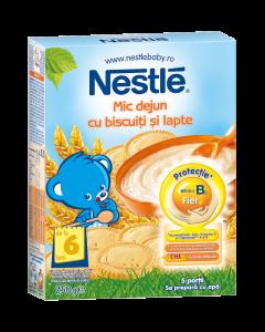 Mic dejun cu biscuiti si lapte Nestle 250g