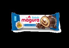 Rulada ciocolata si vanilie Magura 35g