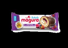 Prajitura cu fructe de padure si glazura Magura 35g
