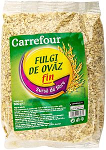 Fulgi de ovaz Carrefour 500g