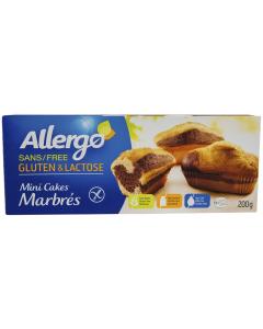 Mini chec marmorat fara gluten & lactoza Allergo 200g