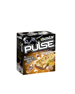 Baton alune-guarana Isostar Pulse Energy 6buc 138g