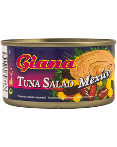 Salata de ton mexicana Giana 185g
