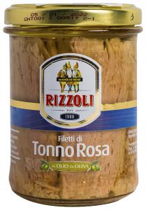 File ton rosu in ulei de masline Rizzoli 200g