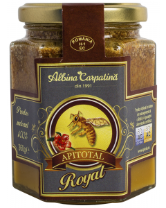Apitotal Royal Albina Carpatina 360g