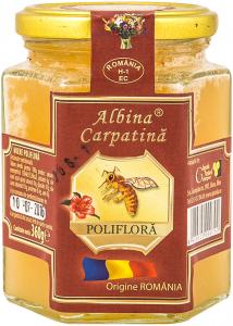 Miere poliflora Albina Carpatina 360ml