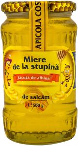 Miere de la stupina de salcam Apicola Costache 500g