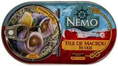 File de macrou in ulei Nemo 170g
