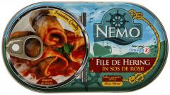 File de hering sos de rosii Nemo 170g