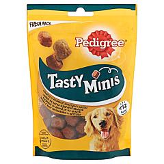 Hrana complementara pentru caini adulti Tasty bites Pedigree 130 g