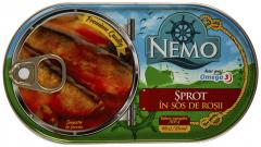 Sprot in sos de rosii Nemo 170g