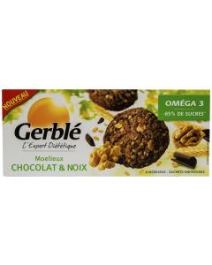 Prajituri ciocolata-nuci Gerble L'Expert Dietetique 138g