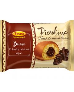 Briosa cu umplutura de crema ciocolata Boromir 40g