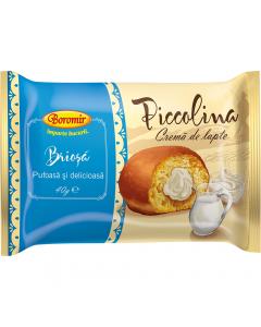 Briosa cu umplutura de crema lapte Boromir 40g