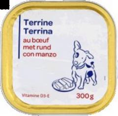 Hrana uscata caine cu vita Carrefour 300g