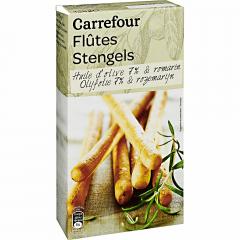 Grisine cu ulei de masline si rozmarin Carrefour 125g