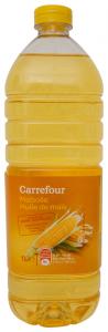 Ulei rafinat de porumb Carrefour 1L