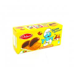 Biscuiti cu ciocolata Strumfi Delacre 150g