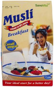 Musli SanoVita Breakfast 400g