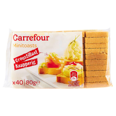Mini toast Carrefour 80g