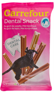 Snack Dental caini Carrefour 210g