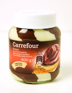Crema de vanilie Carrefour 400g