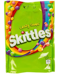 Bomboane Sours Skittles 174g