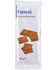 Tableta cu aroma de rom 90g