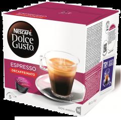 Nescafe Dolce Gusto Espresso Decaffeinato 16 capsule, 96g
